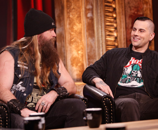 M Shadows That Metal Show M.Shadows no programa ...