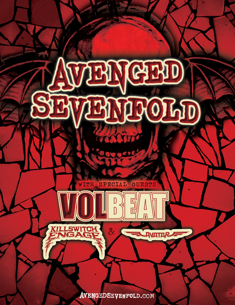 A7X, Volbeat, KSE, Avatar